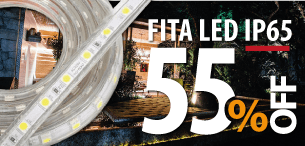 Fita LED IP65 55%